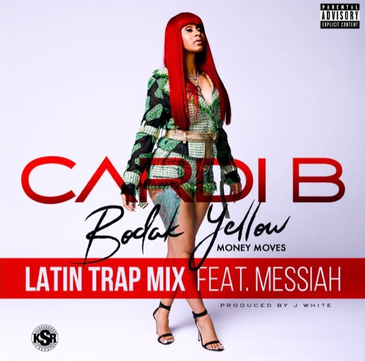 CARDI B FT MESSIAH - BODAK YELLOW(ARTE)