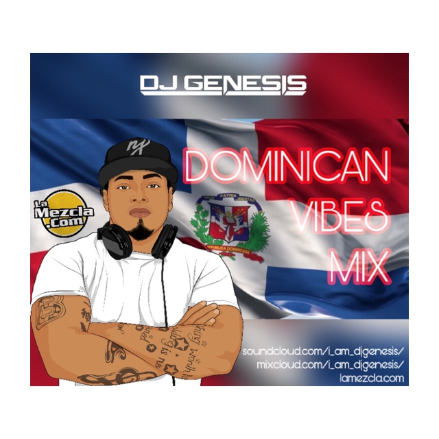 DJ GENESIS - DOMINICAN VIBES (MARCH) COVER
