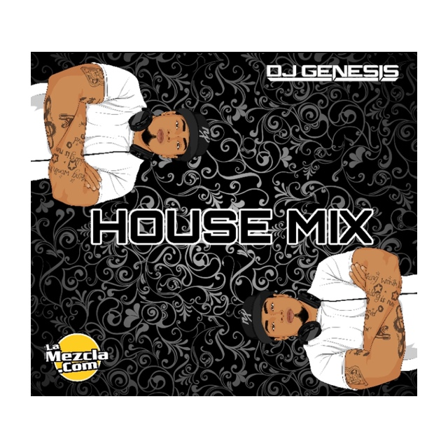 DJ GENESIS - HOUSE MIX (MARCH) COVER
