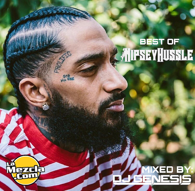 DJ GENESIS - BEST OF NIPSEY HUSSLE COVER